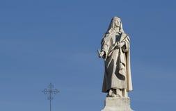статуя монахини Стоковая Фотография