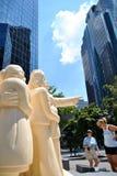 Статуя Монреаля Стоковые Изображения