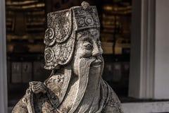 Статуя мудрого человека, Таиланда стоковые изображения rf