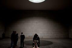 Статуя нацистского руководителя в еврейском музее, Берлине Стоковые Фотографии RF