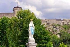 Статуя нашей дамы непорочного зачатия Стоковое Фото