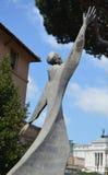 Статуя на базилике Santi Cosma e Damiano Стоковые Фотографии RF