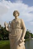 Статуя на дворце боли челки Стоковые Фото