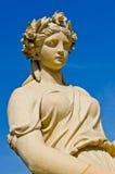 Статуя на дворце боли челки Стоковое фото RF