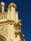 Статуя на замке Lednice стоковые изображения rf