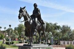 Статуя на капитолии положения Аризоны стоковые изображения rf