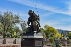 Статуя на капитолии положения Аризоны стоковая фотография rf