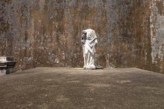 Статуя на кладбище Нового Орлеана Стоковое Изображение