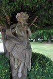 Статуя на резиденции rzburg ¼ WÃ, rzburg ¼ WÃ, Германия Стоковые Фото