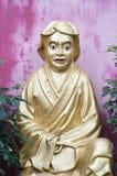 Статуя на 10 тысяч монастыре Buddhas, Shatin, Гонконг стоковое изображение