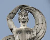 Статуя на эспланаде на справедливом парке в Далласе стоковая фотография rf