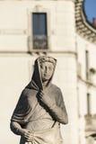 Статуя на CItylife (милан) Стоковое Изображение