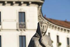 Статуя на CItylife (милан) Стоковые Фото