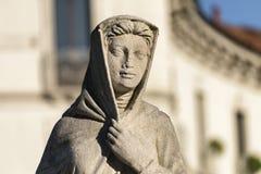 Статуя на CItylife (милан) Стоковые Изображения