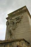 Статуя на Olympic Stadium Стоковые Фотографии RF