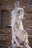Статуя Нептуна в Италии Стоковые Фото