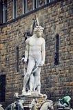 Статуя Нептуна в Флоренсе Стоковая Фотография
