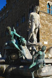 Статуя Нептуна, Флоренс Стоковое Изображение RF