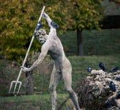 статуя Нептуна Стоковые Изображения RF