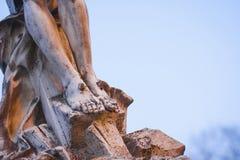Статуя ног Иисуса Христоса Стоковые Изображения