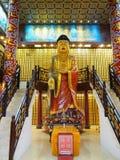Статуя около 10 тысяч монастыря buddhas стоковое фото