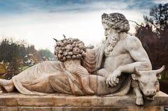 Статуя около дворца Lazienki Стоковое Изображение