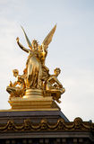 статуя оперы Стоковое фото RF