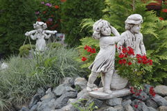 Статуя орнамента Стоковое Изображение RF
