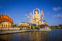 Статуя 18 оружий Будды в Samui, Таиланде Стоковые Изображения
