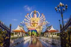 Статуя 18 оружий Будды в Samui, Таиланде Стоковое Изображение