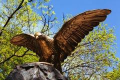 Статуя орла Стоковые Изображения RF