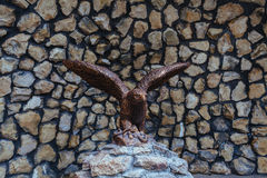 Статуя орла Стоковые Фото
