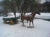 Статуя лошади Стоковые Изображения RF
