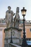 Статуя одного из Dioscuri, Рим Стоковые Фото
