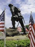 Статуя парашютиста Стоковое Изображение RF