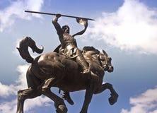 статуя парка el cid бальбоа Стоковая Фотография RF