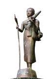 Статуя паломника стоковая фотография rf