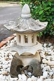 Статуя песчаника традиционного китайского стоковое фото