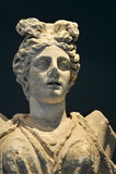 Статуя победы, Philippi, Греция стоковые изображения rf