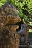 Статуя попечителя Стоковые Фотографии RF
