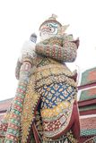 Статуя попечителя стоковые изображения rf