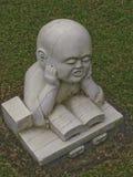 Статуя послушников Стоковые Фото