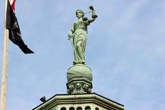 Статуя правосудия Стоковое Изображение