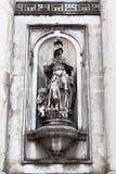 Статуя правосудия, Gesuati, Венеция, Италия Стоковое Изображение