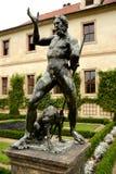 Статуя, Прага Стоковые Фотографии RF