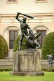 Статуя, Прага Стоковое Фото