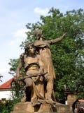 Статуя, Прага Стоковое Изображение RF