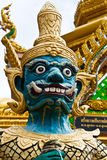 статуя предохранителя демона Стоковое Фото