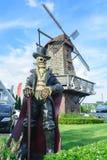 Статуя призрака хеллоуина Стоковые Фото