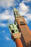 статуя прикормом воздуходувок стоковые изображения
